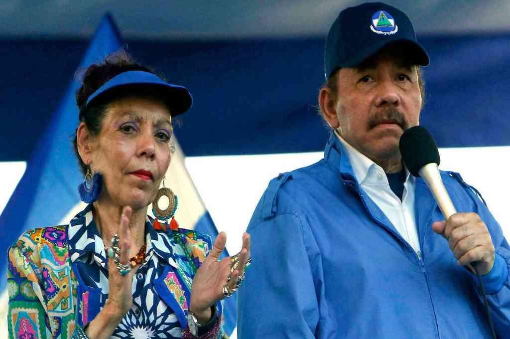El presidente de Nicaragua, Daniel Ortega, junto a su esposa, la vicepresidenta Rosario Murillo. Crédito: Imagen ilustrativa