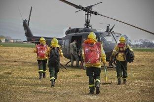 Realizan operativos aéreos y náuticos por nuevos incendios en las islas del delta del Paraná -