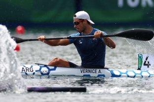 Agustín Vernice clasificó a la final olímpica en K1 1000 -  -