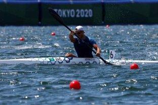Agustín Vernice terminó octavo en la final olímpica de la modalidad K1 1000 -  -