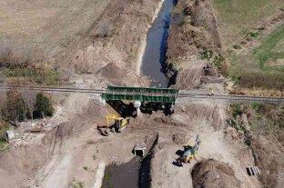 Etapa final de obras de reacondicionamiento en los canales Vila-Cululú y Cañada Sunchales