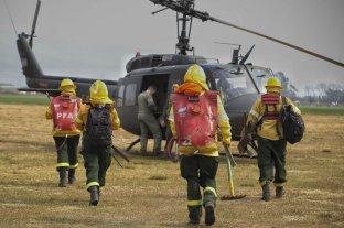 Tareas de coordinación para controlar y prevenir los incendios en el sur