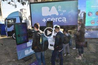 """""""BA más Cerca"""" llegó a la ciudad Santa Fe"""