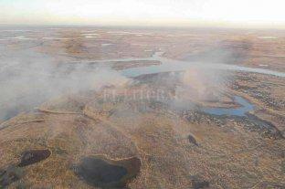 Sofocaron el incendio en la Reserva Natural de San Javier