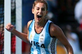Luciana Aymar felicitó a Las Leonas por el triunfo