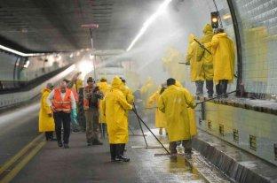 Realizarán tareas de limpieza en el interior del Túnel Subfluvial