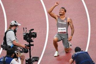 Andre De Grasse se quedó con el oro en los 200 metros