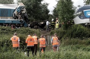 Tres muertos y decenas de heridos en un choque de trenes en República Checa