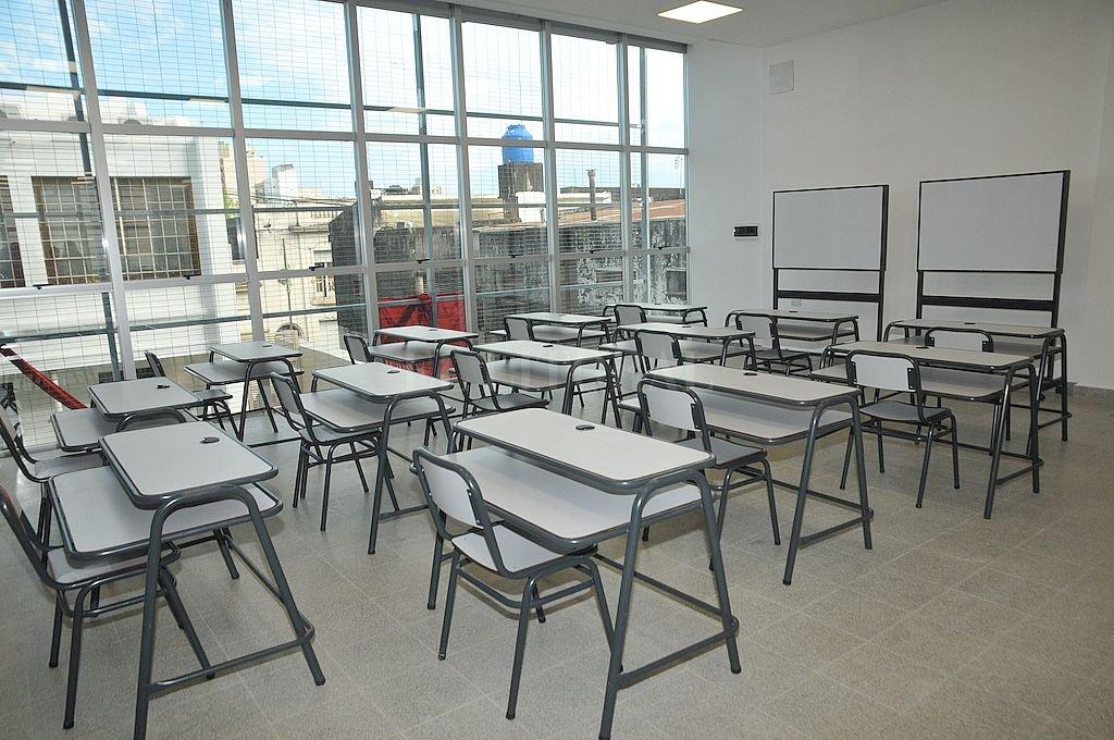 Instituto Superior 12 - Gastón Gori (ciudad de Santa Fe)  Crédito: Flavio Raina - Archivo