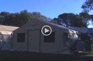 A tres meses de la apertura del hospital de campaña en el Cullen, la ocupación de camas se mantiene al 95%