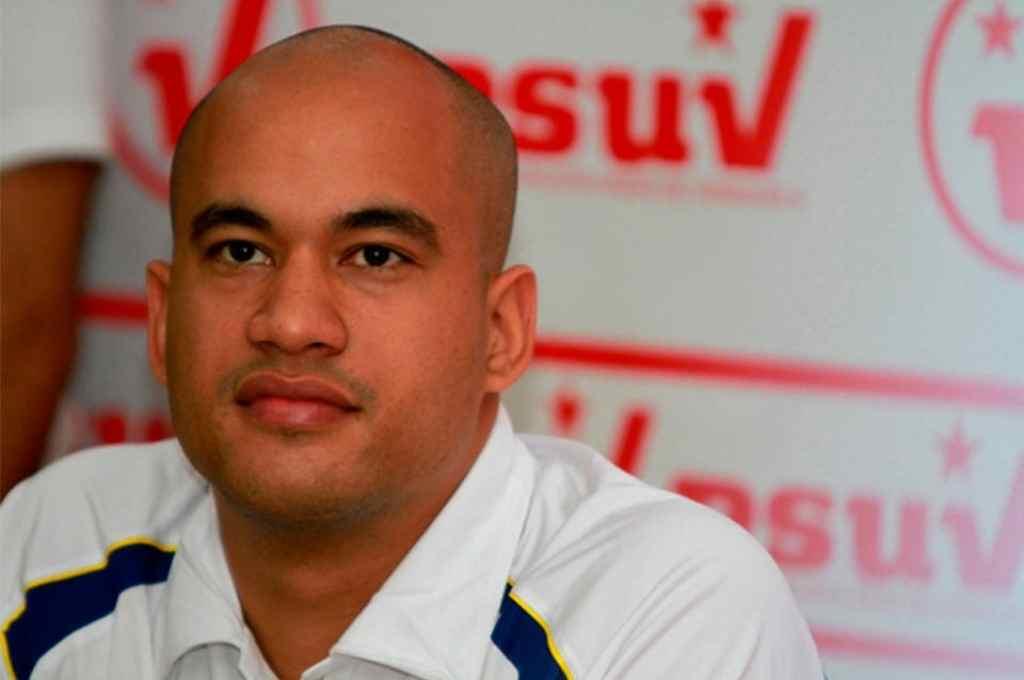 El gobernador chavista del estado Miranda, Héctor Rodríguez.   Crédito: Gentileza