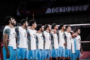 Vóley: Argentina perdió contra Francia y jugará por el bronce