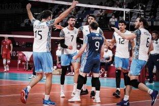¿Cuándo y con quién juega Argentina por el bronce en voley?