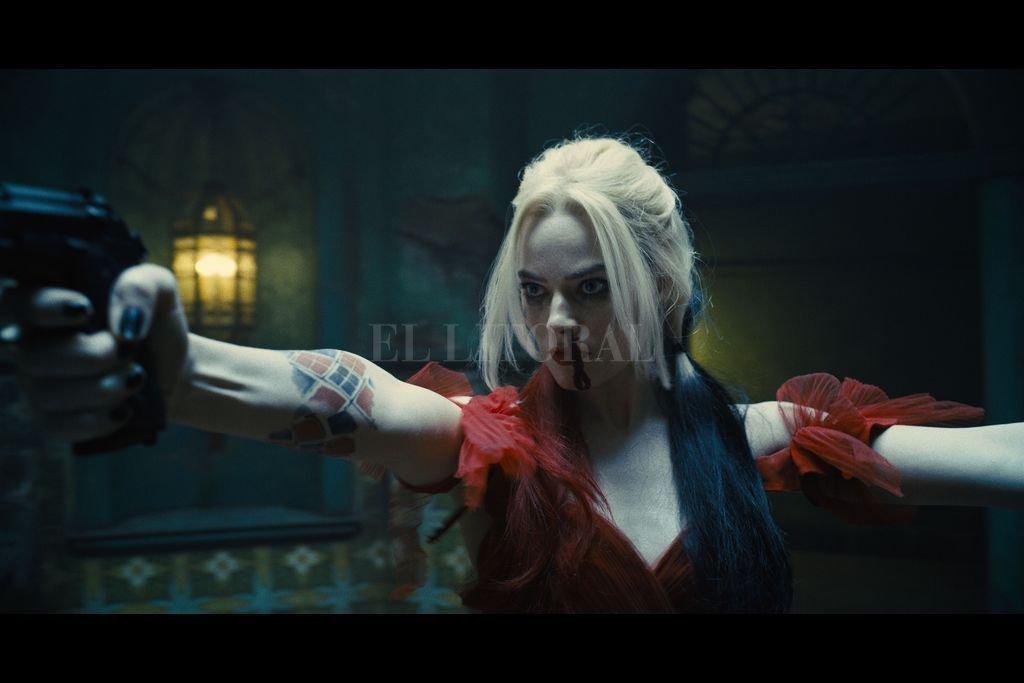 """Margot Robbie en """"El escuadrón suicida"""".  Crédito: Warner Bros., Atlas Entertainment, DC Comics, DC Entertainment"""