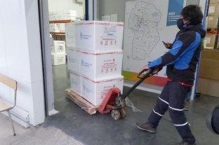 Córdoba recibió una nueva partida de vacunas Sinopharm