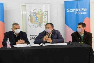 Pusineri recorrió San Javier y selló acuerdos con el gobierno municipal