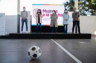 Crean en Córdoba un programa oficial para la inclusión de las mujeres en el fútbol