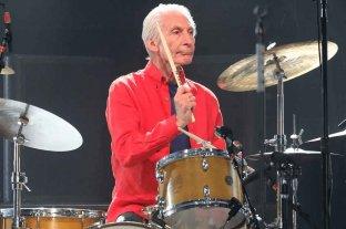 Charlie Watts se bajó de la gira de los Rolling Stones por sus problemas de salud