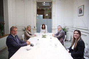 Cristina Fernández de Kirchner volvió al Instituto Patria para apoyar a Marcelo Lewandoski