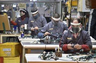 El nivel de actividad de la industria creció 19,1% y la construcción 28,6% interanual
