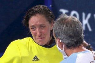 "Belén Succi: ""Hijo: mamá vuelve a casa con la medalla que te prometió"""