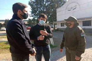 Pullaro, junto a Chiarella y Enrico, visitaron el destacamento de Gendarmería Nacional en Venado Tuerto