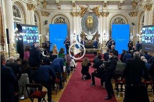 Video: juraron Jorge Taiana y a Juan Horacio Zabaleta