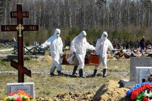 Rusia marcó un nuevo récord de 852 muertos por coronavirus en un día