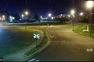 La noche se hizo más calma en Rosario