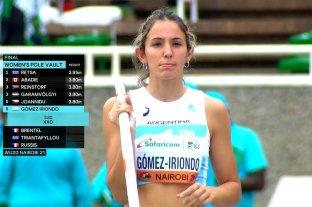 La santafesina Luciana Gómez Iriondo fue 6° en Mundial Sub 20 de Kenia