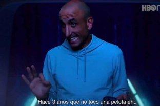 """""""¿Y si te llama Román?"""": la publicidad de HBO para promocionar Space Jam 2 con Manu Ginóbilli"""