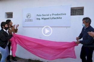 """El Polo Social y Productivo de San José del Rincón ahora se llama """"Ing. Miguel Lifschitz"""""""