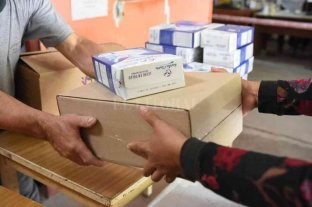 Continúa la entrega de refuerzo alimentario en Rafaela