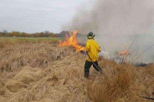 Arduo trabajo de Bomberos por incendios en la provincia