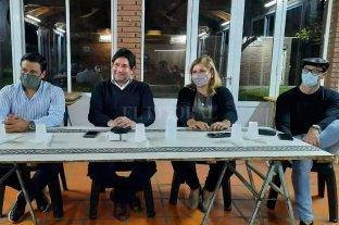 """Alvizo, Zamora, Ilchischen y Clemente juntos y convencidos de que """"Otra Santo Tomé es Posible"""""""