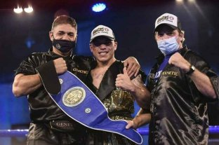 Boxeo: Pucheta expone en San Pedro el título que ganó en Carlos Paz