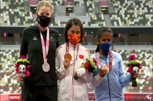 Medalla de bronce para Yanina Martínez en los 200 metros