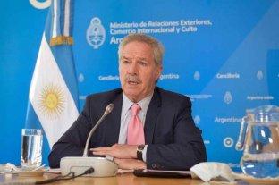 "El canciller Solá advirtió que se evalúa llevar a Chile a un ""tribunal internacional"""