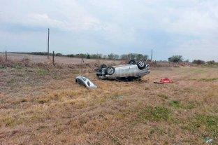 Un muerto y cuatro heridos  tras dos siniestros viales en Las Colonias