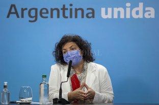 Carla Vizzotti participará de la reunión de ministros de Salud del G20 en Roma