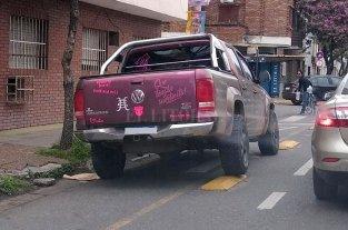 "Otra camioneta ""invasora"""