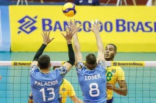 Sudamericano de vóley: Argentina no pudo con Brasil y cayó en la final