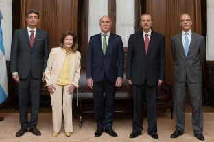 Los cinco jueces de la Corte buscan consensos para elegir su presidente