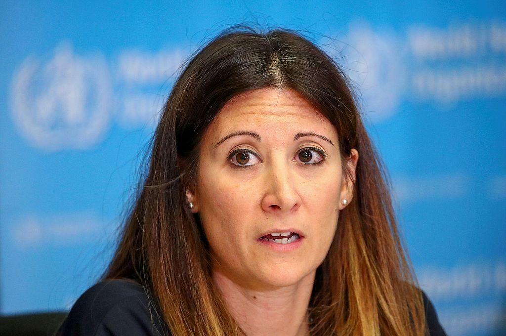 Maria Van Kerkhove, jefa de la Unidad de Enfermedades Emergentes de la OMS. Crédito: Reuters