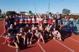 Atletismo: los santafesinos fueron los dueños de la velocidad