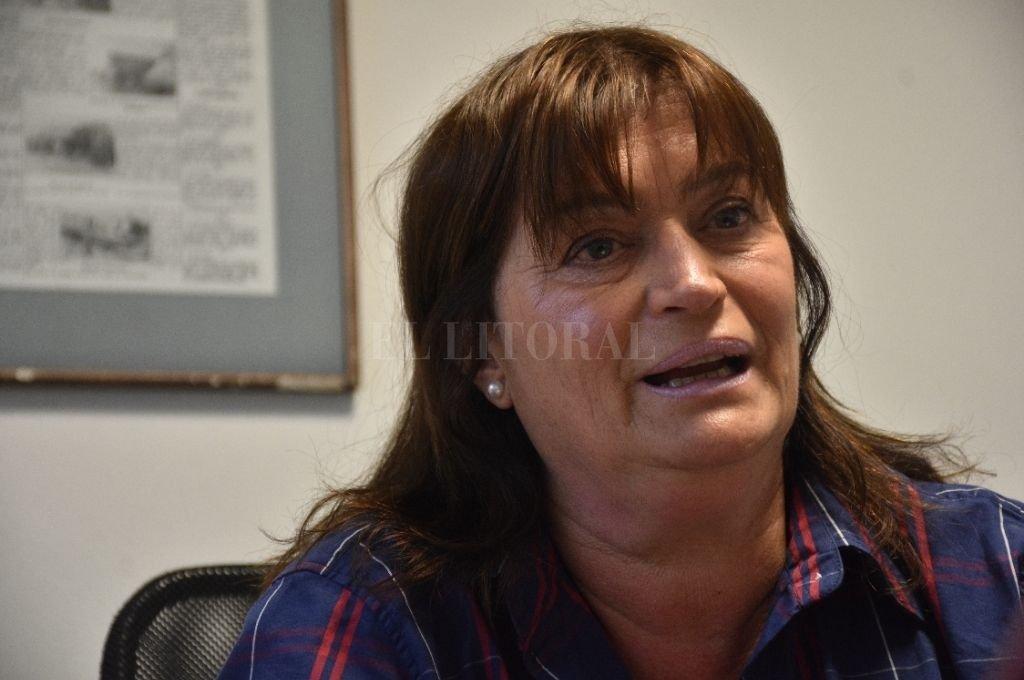 María Alejandra Gutiérrez de Vigo, del partido Vida y Familia. Hace veinte años que vive en San José del Rincón. Crédito: Luis Cetraro