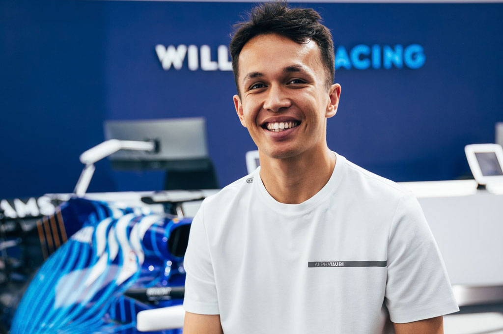 Alex Albon, vuelve de manera oficial a la F1 Crédito: Gentileza