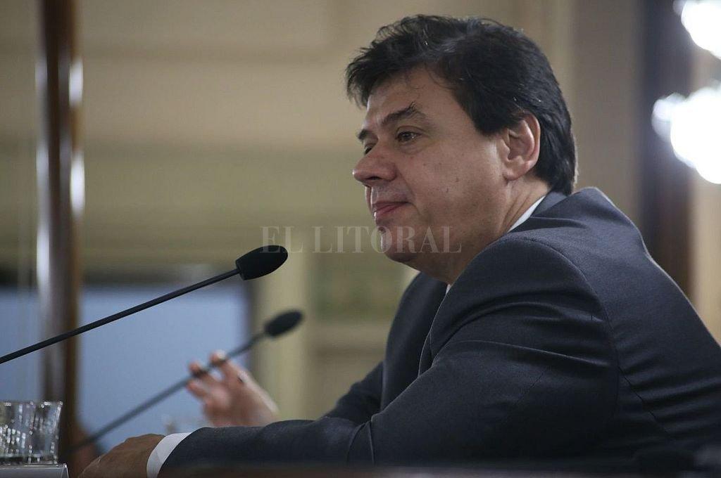 Claudio Moroni, ministro de Trabajo de la Nación. Crédito: Archivo El Litoral