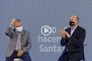 Video: Omar Perotti cerró su campaña para las PASO con apoyo de Cristina Fernández