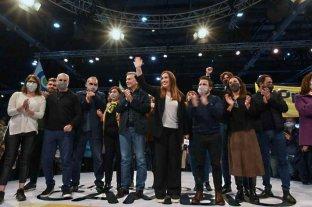 """Vidal en el cierre: """"Este gobierno nos estafó"""""""